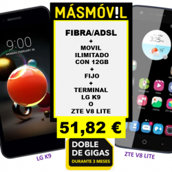 LG K9 Y ZTE V8 LITE