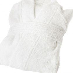 Albornoz 100% algodón 7.5€